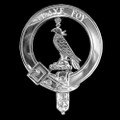 Boswell Badge Polished Sterling Silver Boswell Crest
