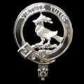 Blair Of Balthayoc Clan Badge Polished Sterling Silver Blair Clan Crest