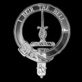 Bell Clan Badge Polished Sterling Silver Bell Clan Crest