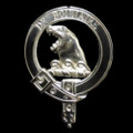 Beaton Badge Polished Sterling Silver Beaton Crest