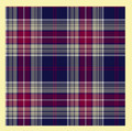 Largs Springweight 8oz Tartan Wool Fabric