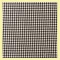 Wyke Black White Balmoral Double Width 11oz Polyviscose Tartan Fabric