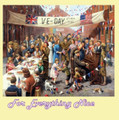 VE Day Celebration WW1 Centenary Themed Maxi Wooden Jigsaw Puzzle 250 Pieces