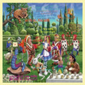 Alice In Wonderland Themed Mega Wooden Jigsaw Puzzle 500 Pieces