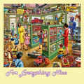 Toy Shop Nostalgia Themed Maxi Wooden Jigsaw Puzzle 250 Pieces