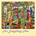 Toy Shop Nostalgia Themed Mega Wooden Jigsaw Puzzle 500 Pieces