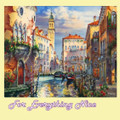 Venice Before Sunset Fine Art Themed Maestro Wooden Jigsaw Puzzle 300 Pieces