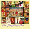 Vintage Opera Nostalgia Themed Maxi Wooden Jigsaw Puzzle 250 Pieces