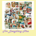 Vintage Greetings Christmas Themed Millenium Wooden Jigsaw Puzzle 1000 Pieces