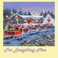 Ready For Take Off Christmas Themed Maxi Wooden Jigsaw Puzzle 250 Pieces