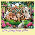 Pets In The Park Animal Themed Magnum Wooden Jigsaw Puzzle 1000 Pieces