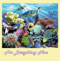 Reef Life Marine Animal Themed Mega Wooden Jigsaw Puzzle 500 Pieces