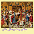 Seven Joys Of Mary ReligiousThemed Maestro Wooden Jigsaw Puzzle 300 Pieces