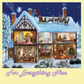 Christmas House Christmas Themed Mega Wooden Jigsaw Puzzle 500 Pieces