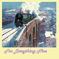 Exeter At Tavistock Train Themed Mega Wooden Jigsaw Puzzle 500 Pieces