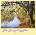 Autumn River Wharfe Nature Themed Mega Wooden Jigsaw Puzzle 500 Pieces