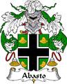 Abasto Spanish Coat of Arms Large Print Abasto Spanish Family Crest