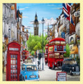 Whitehall London Location Themed Magnum Wooden Jigsaw Puzzle 750 Pieces