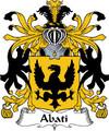 Abati Italian Coat of Arms Print Abati Italian Family Crest Print