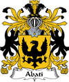 Abati Italian Coat of Arms Large Print Abati Italian Family Crest