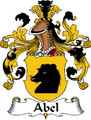 Abel German Coat of Arms Print Abel German Family Crest Print