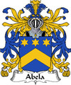 Abela Italian Coat of Arms Large Print Abela Italian Family Crest
