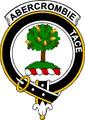 Abercrombie Clan Badge Large Print Abercrombie Scottish Clan Crest Badge