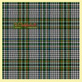 Abbotsford Ancient Check Single Width 4oz Tartan Pure Silk Fabric