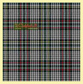 Abbotsford Modern Check Single Width 4oz Tartan Pure Silk Fabric