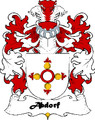 Abdorf Swiss Coat of Arms Large Print Abdorf Swiss Family Crest