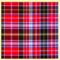 Aberdeen District 16oz Tartan Wool Fabric Heavyweight Swatch
