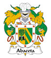 Abaceta Spanish Coat of Arms Print Abaceta Spanish Family Crest Print