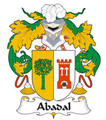 Abadal Spanish Coat of Arms Large Print Abadal Spanish Family Crest