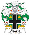 Abaeto Spanish Coat of Arms Large Print Abaeto Spanish Family Crest