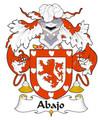 Abajo Spanish Coat of Arms Large Print Abajo Spanish Family Crest