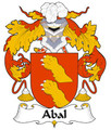 Abal Spanish Coat of Arms Print Abal Spanish Family Crest Print