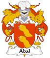 Abal Spanish Coat of Arms Print Abal Spanish Family Crest Print