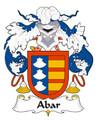 Abar Spanish Coat of Arms Large Print Abar Spanish Family Crest