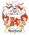 Abarbanel Spanish Coat of Arms Large Print Abarbanel Spanish Family Crest