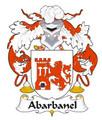 Abarbanel Spanish Coat of Arms Large Print Abarbanel Spanish Family Crest