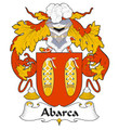 Abarca Spanish Coat of Arms Print Abarca Spanish Family Crest Print