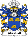 Abrahall Welsh Coat of Arms Large Print Abrahall Welsh Family Crest