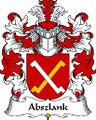 Abszlank Polish Coat of Arms Print Abszlank Polish Family Crest Print