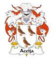 Aceija Spanish Coat of Arms Large Print Aceija Spanish Family Crest