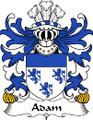 Adam Welsh Coat of Arms Print Adam Welsh Family Crest Print