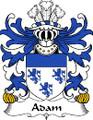 Adam Welsh Coat of Arms Print Adam Welsh Family Crest Print