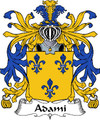 Adami Italian Coat of Arms Large Print Adami Italian Family Crest