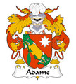 Adame Spanish Coat of Arms Large Print Adame Spanish Family Crest