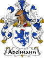 Adelmann German Coat of Arms Print Adelmann German Family Crest Print