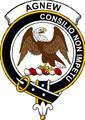 Agnew Clan Badge Print Agnew Scottish Clan Crest Badge